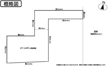 概略図画像 一宮市今伊勢町本神戸